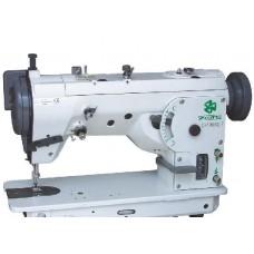 Одноигольная швейная машина с переключением на двухигольный или трехукольный зиг-заг ZOJE ZJ457В-DP-L-F