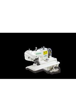 Одноигольная швейная машина потайного стежка ZOJE 101