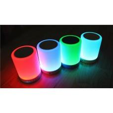 Вluetooth колонка с разноцветной подсветкой