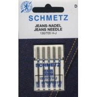 Иглы для джинсы ассорти Schmetz