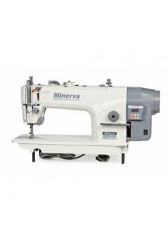 Minerva M5550-1JDE одноигольная швейная машина с прямым приводом и обрезкой нити